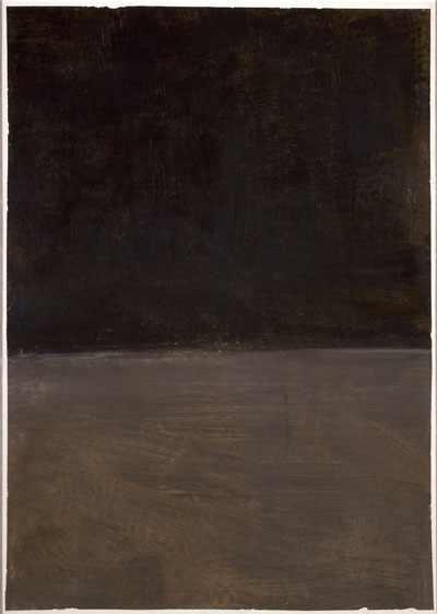 Untitled. Mark Rothko. Acrylic on paper, 1969