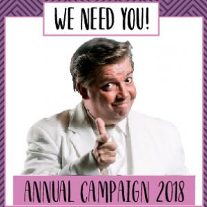 Annual Fund Drive 2018 - you make Stage West possible!